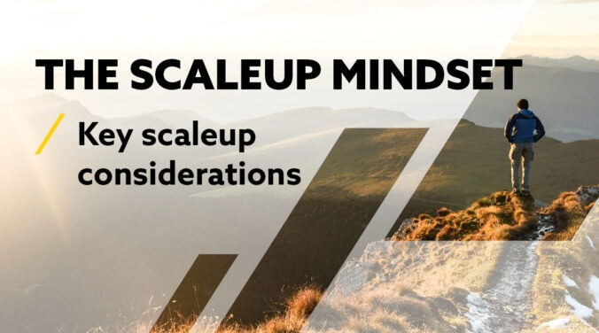 Five key considerations when scaling your business